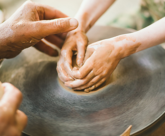 Prepare the clay
